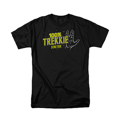 Star Trek 100% Trekkie T-Shirt