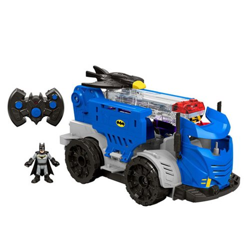 DC Super Friends Imaginext RC Mobile Command Center Vehicle