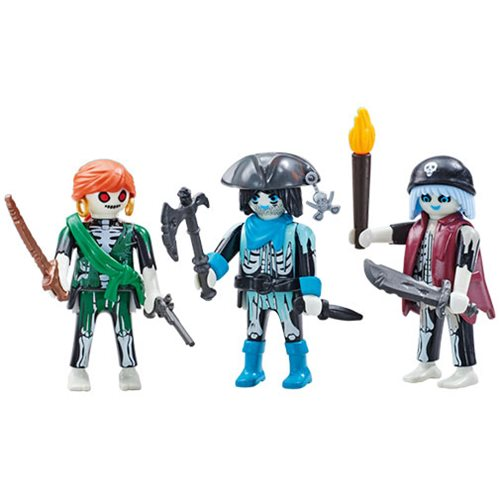 Playmobil 6592 Three Ghost Pirates