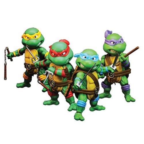 235dd70011b Teenage Mutant Ninja Turtles Hybrid Metal Figuration Die-Cast Metal Action  Figure 4-Pack