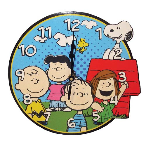 Peanuts Gang Wall Clock, Not Mint
