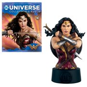 DC Universe Wonder Woman Movie Bust with Collector Magazine #16