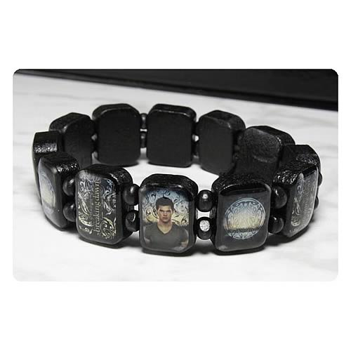 Twilight Breaking Dawn Part 2 Jacob Wooden Bracelet
