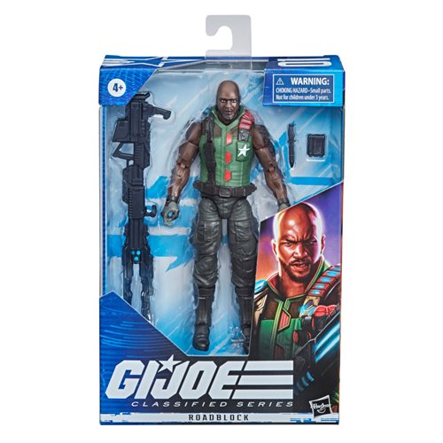 G.I. Joe Classified Series 6-Inch Roadblock Action Figure - Variant