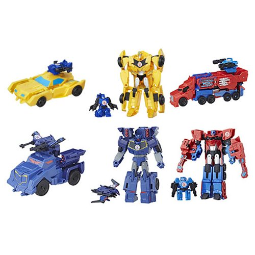 Transformers Robots in Disguise Activator Combiners Wave 3 Revision 1 Case