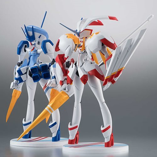 "In STOCK Bandai Robot Spirits Darling in the Franxx /""Delphinium/"" Action Figure"