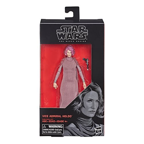 Star Wars The Black Series Vice Admiral Holdo 6-Inch Action Figure