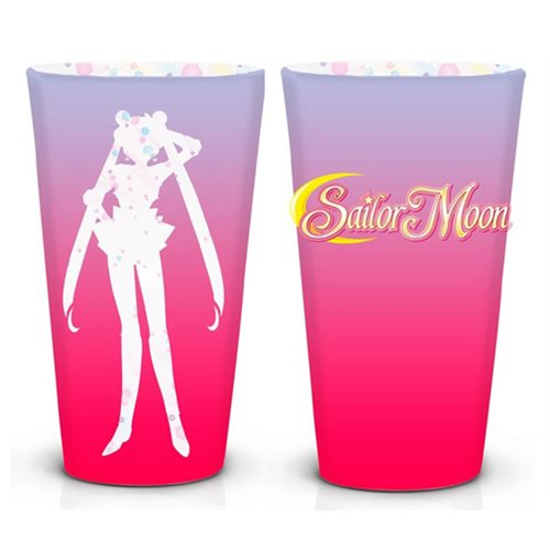 Sailor Moon Silhouette Usagi Pint Glass