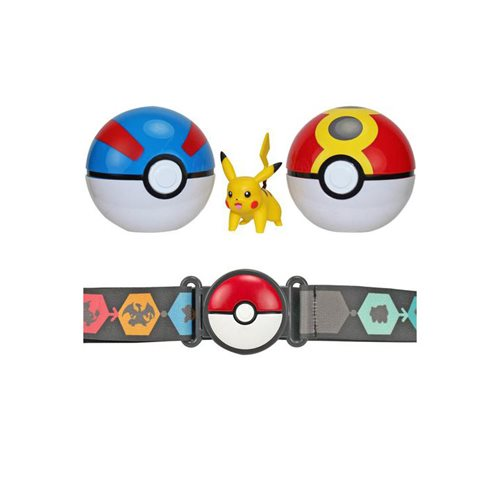 Pokemon Clip 'N' Go Poke Ball Belt Random Set