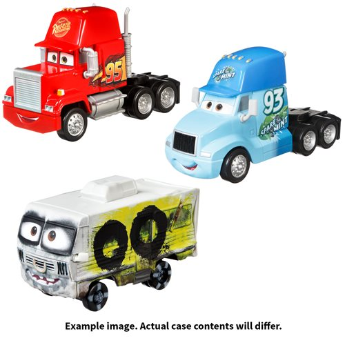 Cars Oversized Vehicles 2021 Mix 3 Case of 4