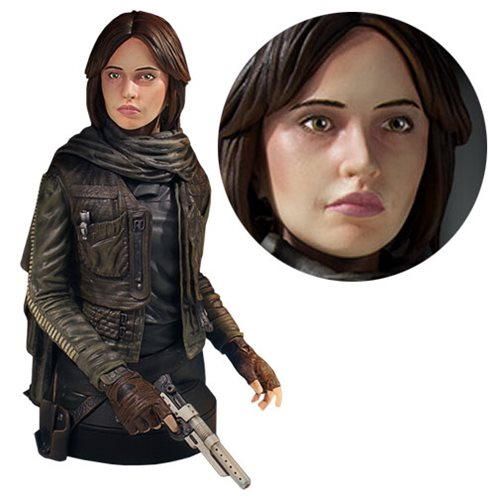 Star Wars Rogue One Jyn Erso Mini-Bust