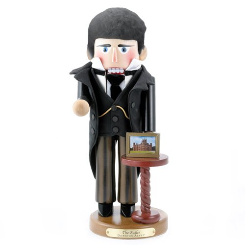 Downton Abbey Butler 16-Inch Nutcracker