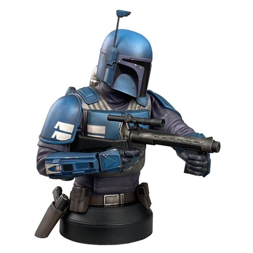 Star Wars Mandalorian Deathwatch 1:6 Scale Mini-Bust - Diamond Select Showcase Previews Exclusive