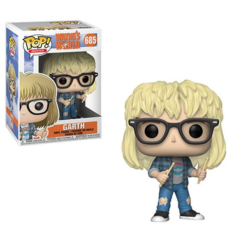 Wayne's World Garth Pop! Vinyl Figure #685