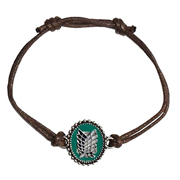 Attack on Titan Scout Shield Adjustable Bracelet