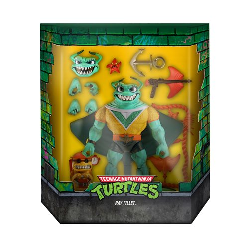 Teenage Mutant Ninja Turtles Ultimates Ray Fillet 7-Inch Action Figure