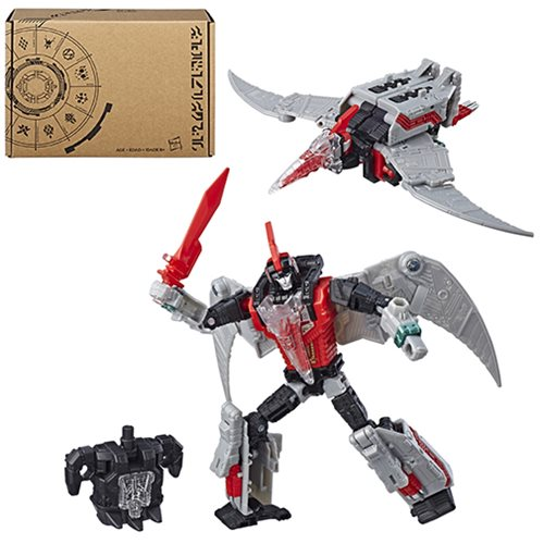 Transformers Generations Selects Deluxe Red Swoop Exclusive