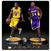 NBA Collection Kobe Bryant 1:6 Scale Real Masterpiece Action Figure 2-Pack