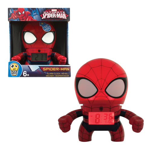 Marvel Spider-Man Bulb Botz Alarm Clock