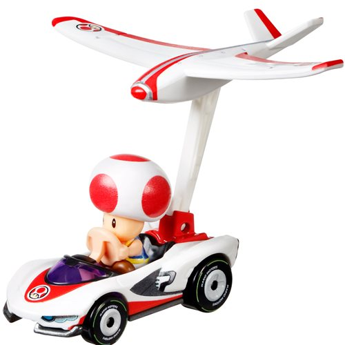 Mario Kart Hot Wheels Gliders Mix 1 2021 Vehicle Case