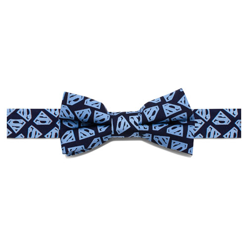Superman Tight Shield Boys Silk Bowtie