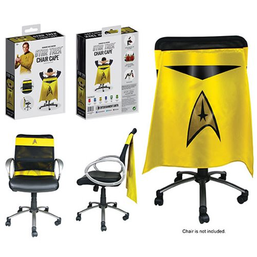 Star Trek: The Original Series Command Gold Uniform Chair Cape