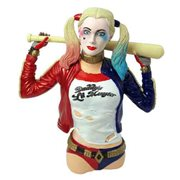 Suicide Squad Harley Quinn Bust Bank