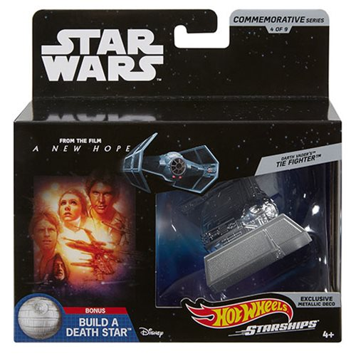 Star Wars Hot Wheels Commemorative Starships Mix 2 Case