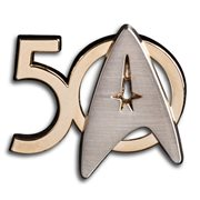 Star Trek 50th Anniversary Logo Pin
