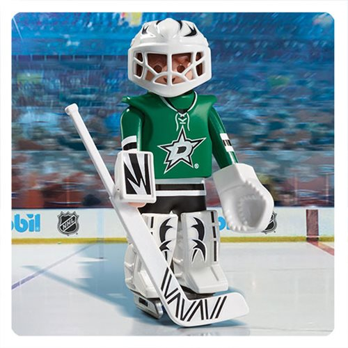 Playmobil 9181 NHL Dallas Stars Goalie Action Figure