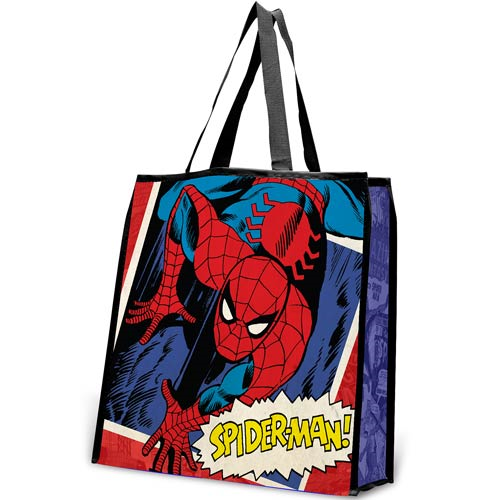 Spider-Man Large Recycled Shopper Tote