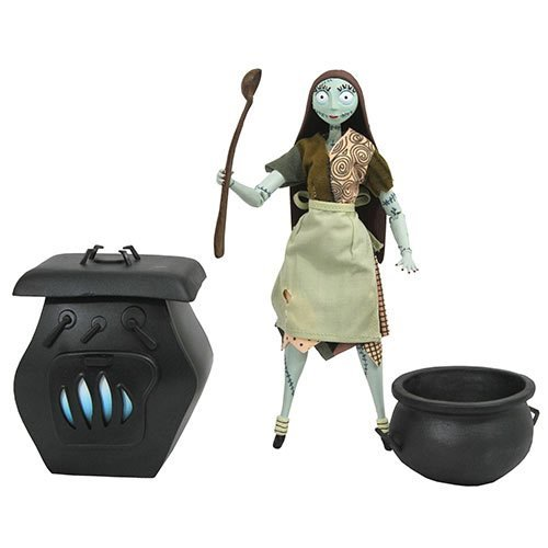Nightmare Before Christmas Silver Anniversary Sally Action Figure