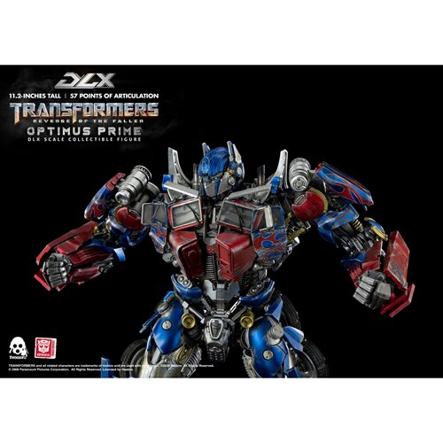 Transformers: Revenge of the Fallen Optimus Prime DLX Action Figure