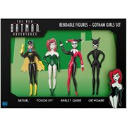 Batman The New Batman Adventures Gotham Girls Bendable Action Figure Boxed Set