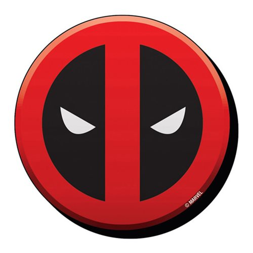 deadpool face logo funky chunky magnet entertainment earth rh entertainmentearth com Deadpool Logo Marvel Face Deadpool Face Sketch