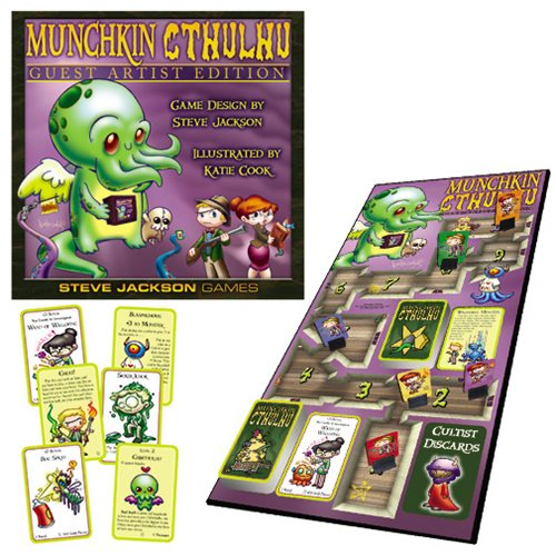 Munchkin Cthulhu Guest Artist Edition Katie Cook Game