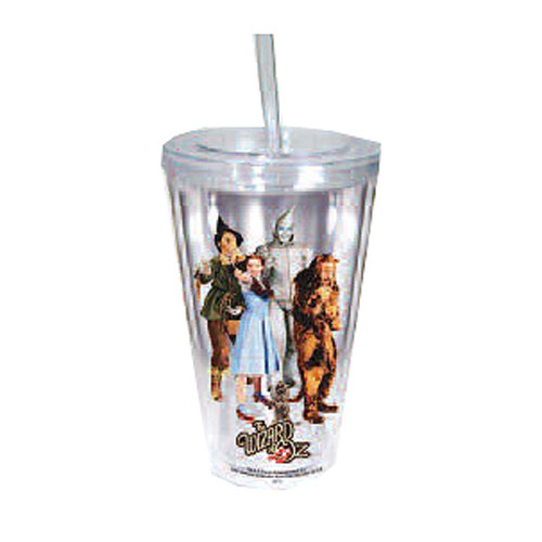 Wizard of Oz Travel Cup with Straw