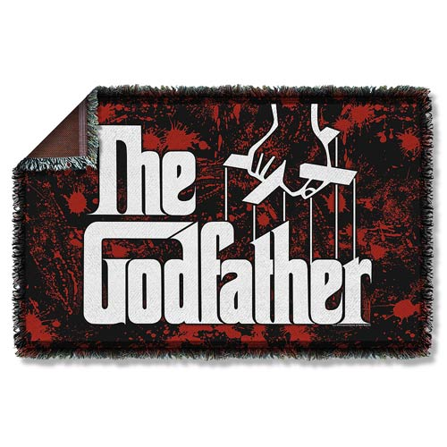 The Godfather Logo Woven Tapestry Blanket