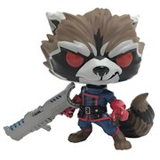 GOTG Comic Rocket Raccoon Classic Pop! Vinyl Figure - PX