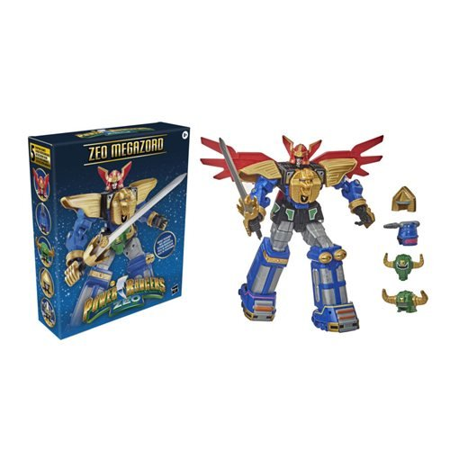 Power Rangers Lightning Collection Zeo Megazord 12-Inch Action Figure