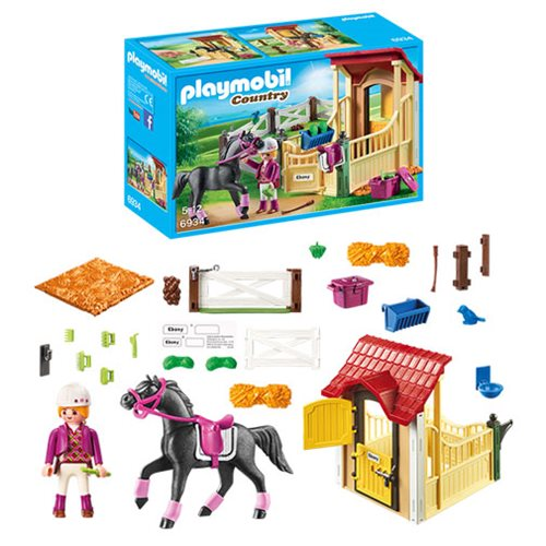 Playmobil 6934 Country Horse Stable with Arabian Horse
