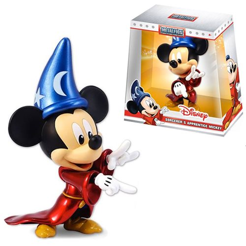 Disney Metals Sorcerer Mickey Mouse 6-Inch Die-Cast Metal Action Figure