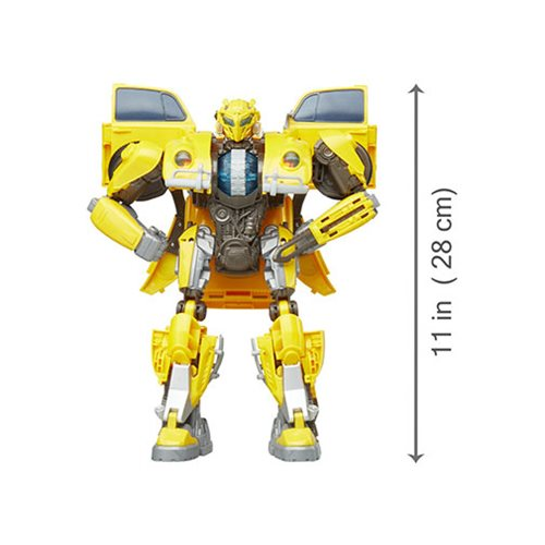 Transformers Bumblebee Movie Power Charge Bumblebee