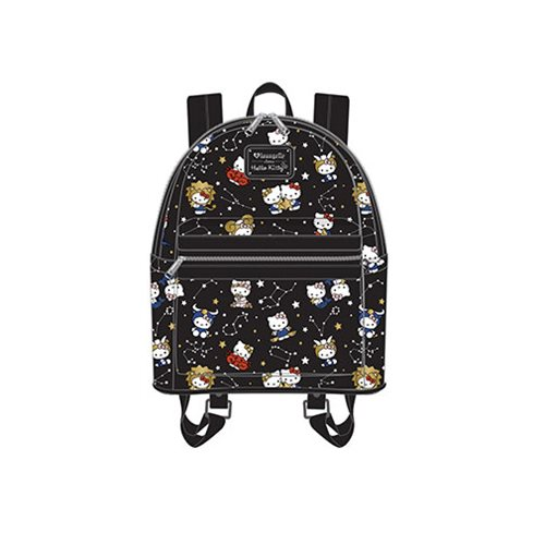 7857a7da17 Hello Kitty Zodiac Print Mini Backpack - Entertainment Earth