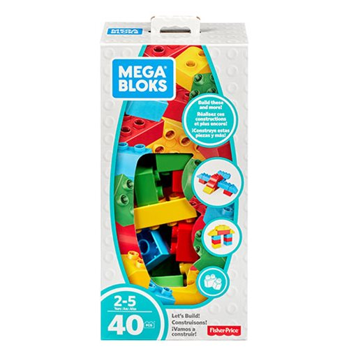 Mega Bloks Building Basics Let's Build Small Classic Playset