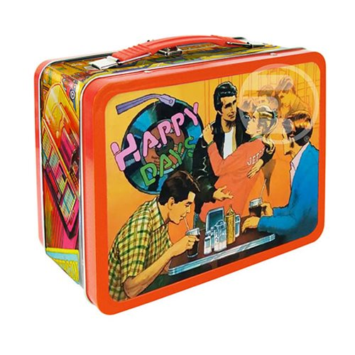 Happy Days The Fonz Tin Tote - Entertainment Earth Exclusive