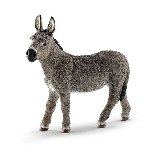 Farm World Donkey Figure