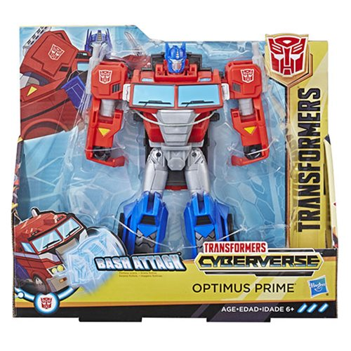 Transformers Cyberverse Action Attackers Ultra Class Optimus Prime
