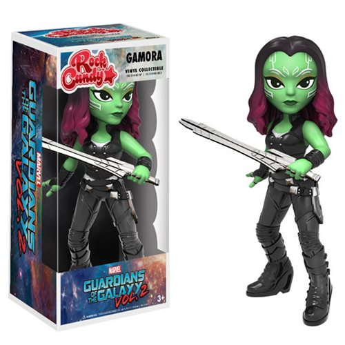 Guardians of the Galaxy Vol. 2 Gamora Rock Candy Vinyl Figure