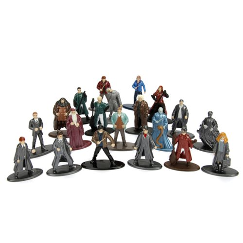 Harry Potter Nano Metalfigs Die-Cast Metal Mini-Figures 20-Pack